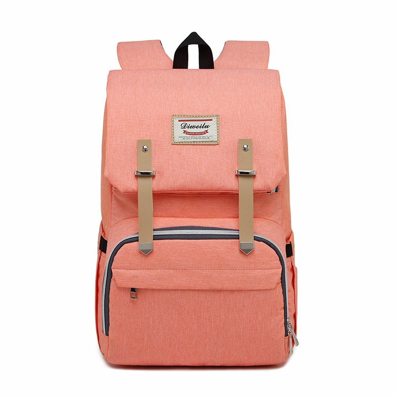 2018 New Style Korean-style Diaper Bag Mummy Backpack Multi-functional Large-Volume Nursing Baoma Backpack Enhanced Version