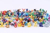 144 different Pcs Pokemon Pikachu Small Fire Dragon Desktop Decoration Home Decoration Crafts