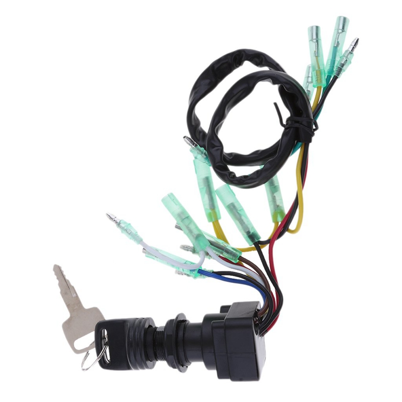 Ignition Main Switch /& Key Assembly 703-82510-43-00 for Yamaha Outboard Motor