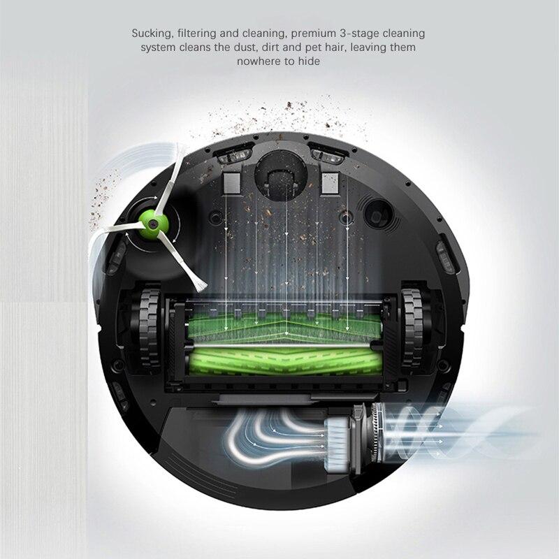 IRobot Roomba I7 Roboter Staubsauger mit Automatische Schmutz Entsorgung Impressum Sauber Basis Smart Mapping APP Steuer Für Home