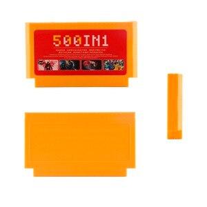 Image 5 - 500 in 1 게임 카트리지 비디오 게임 메모리 카드 180 400 in 1 8 비트 60 핀 Nintend 게임용 콘솔 클래식 FC 게임 카드 8in1
