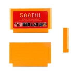 Image 5 - 500 w 1 kartridż z grą gry wideo karty pamięci 180 400 w 1 8 Bit 60 pinów konsola do gry Nintend classic FC karty do gry 8w1