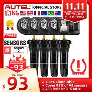 Image 1 - Autel MX Sensoren 433 MHz 315 MHz Sensor Programmierer TPMS PAD TS401 TS601 Doppel Frequenzen 2 in 1 Autel sensoren Reifen Analyse