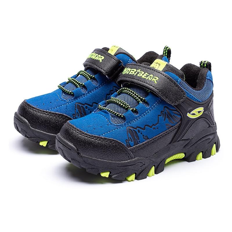 Hook & Loop Children Sports Shoes For Boys Running Walking Shoes Waterproof Kids Sneakers Boys Toddler Fashion Footwear