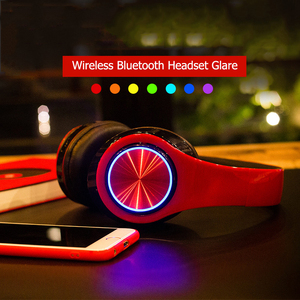 Image 2 - B39 Bluetooth Headphones wireless Portable Folding Headset  Support call mp3 player With Microphone LED Colorful Lights