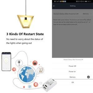 Image 3 - Беспроводной умный выключатель Rubrum Tuya с Wi Fi и таймером, универсальный модуль автоматизации умного дома для Alexa и Google Home