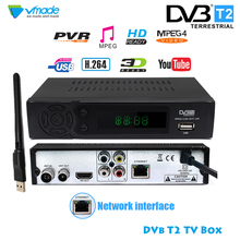 2020 HD 1080P DVB T2 8939 Digital Signal Receiver Set top Box Terrestrial Receiver H.264 DVB TV Tuner with RJ45 Support WIFI