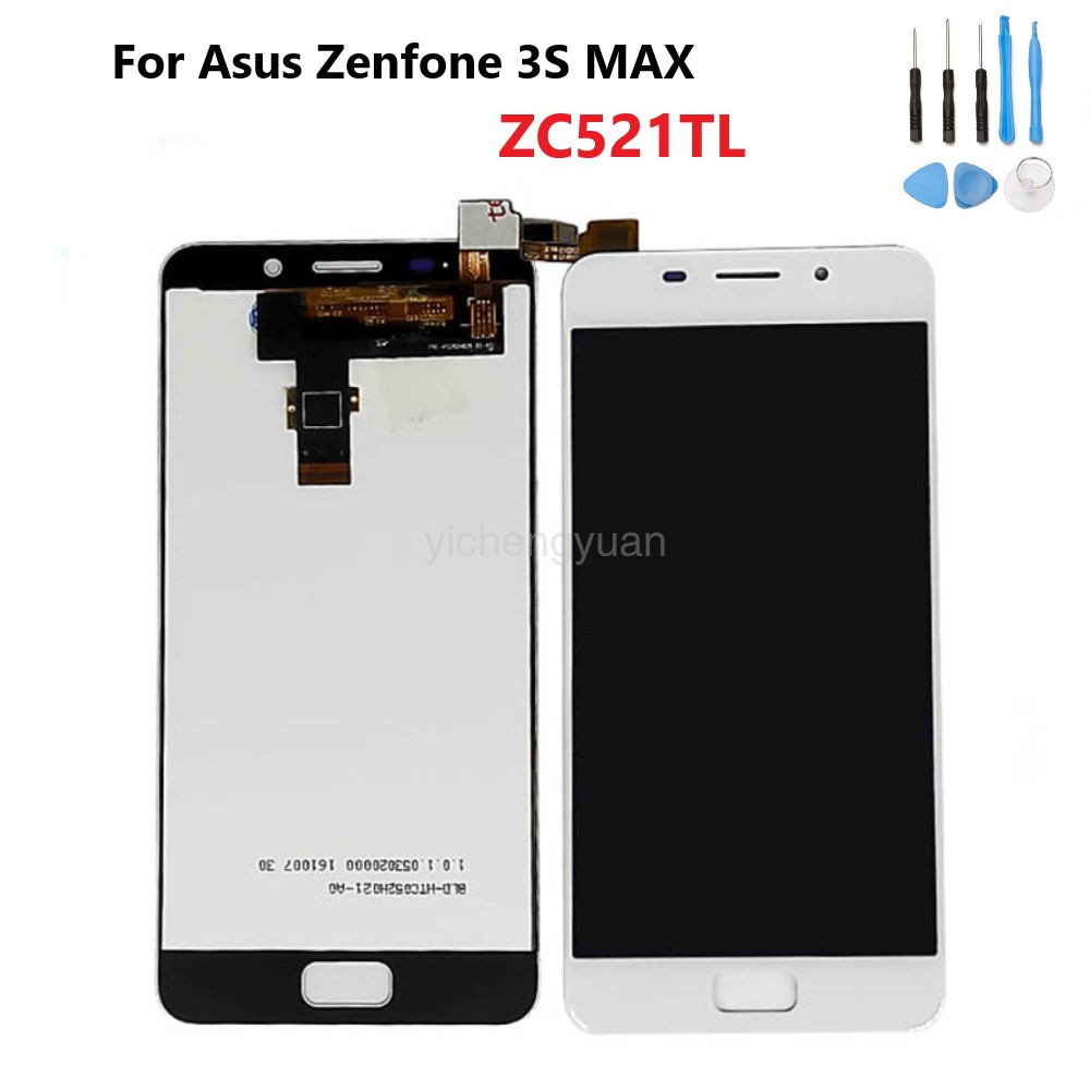 OriginalFor <font><b>Asus</b></font> Zenfone <font><b>3S</b></font> <font><b>MAX</b></font> ZC521TL X00GD LCD Display Screen+Touch Panel Digitizer Assembly For <font><b>Asus</b></font> DisplayWith Frame image