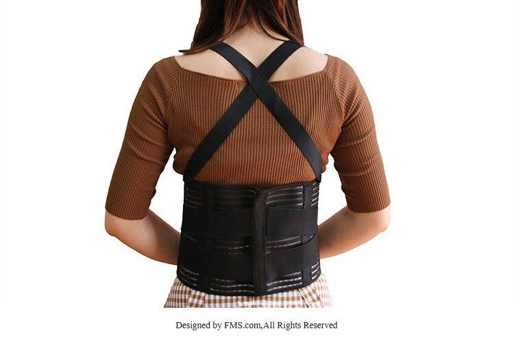 Adjustable Suspender Strap Waist Support Healthy Beauty Waist Supporter Work Anti-off Slip Waist Supporter Waistband Back Waist