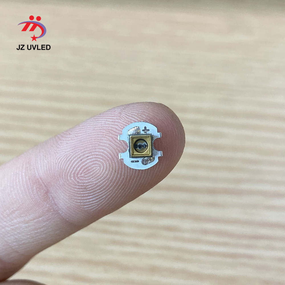 Lámpara LED UVC de 275nm, cuentas para placa de circuito de linterna de 8mm, equipo de desinfección UV, luces ultravioleta LED de 265/285nm Cuentas de lámpara LED UVC de 1W y 265nm para equipo médico para desinfección UV de 275nm SMD4545, Chip ultravioleta profundo LG de 5-9V, 150mA de Corea