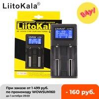 LiitoKala Lii-202 lii-402 18650 cargador de batería de 1.2 V 3.7 V 3.2 V 3.85 V AA/AAA 26650 10440 14500 16340 18350 cargador de batería inteligente