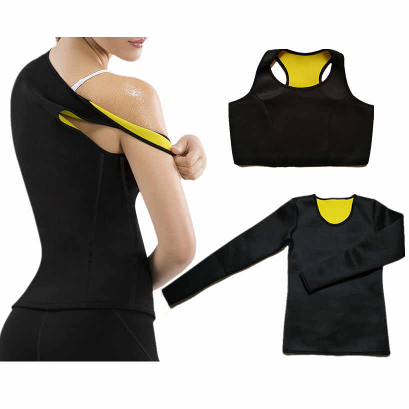 CHENYE Gewichtsverlies Shaper Body Shapers Thermische Afslanken shirt Neopreen Taille-Trimmer Afslanken T-Shirt Workout Shapers Vest Bras