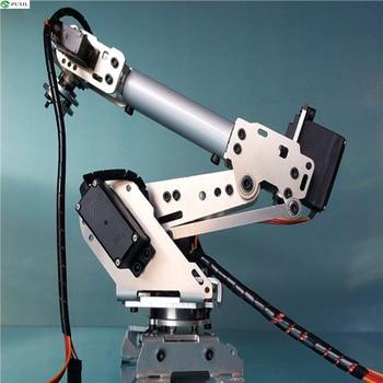 Robotic Arm 6 Degrees Of Freedom Manipulator Abb Industrial Robot Robotic Model 6 Axis Robot 2 industrial robot 3d rotate mechanical arm alloy manipulator 6 dof robot arm rack with 996 servos 1 alloy gripper controller