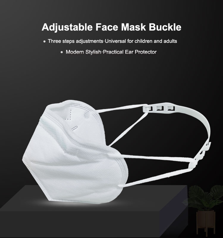 3PCS Adjustable N95 KN95 Mask Dust Masks Artifact Anti Lock Mask Buckle Ear Protection Face Mask Hook Ear Pain Prevention