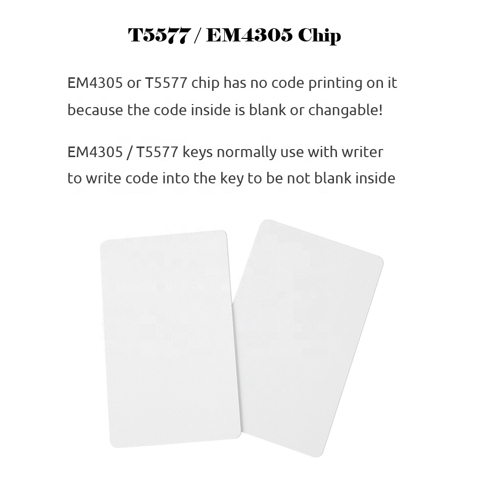 Rewritable/Writable Access Control Cards Compatible with all Door Entry System 5