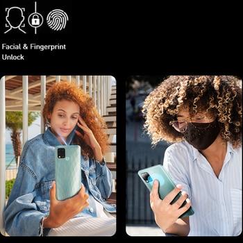 Infinix Hot 10S Global Version NFC Support 4GB 64GB 6.82'' Display Smartphone 5000mAh Battery Helio G85 48MP Triple Rear Camera 2