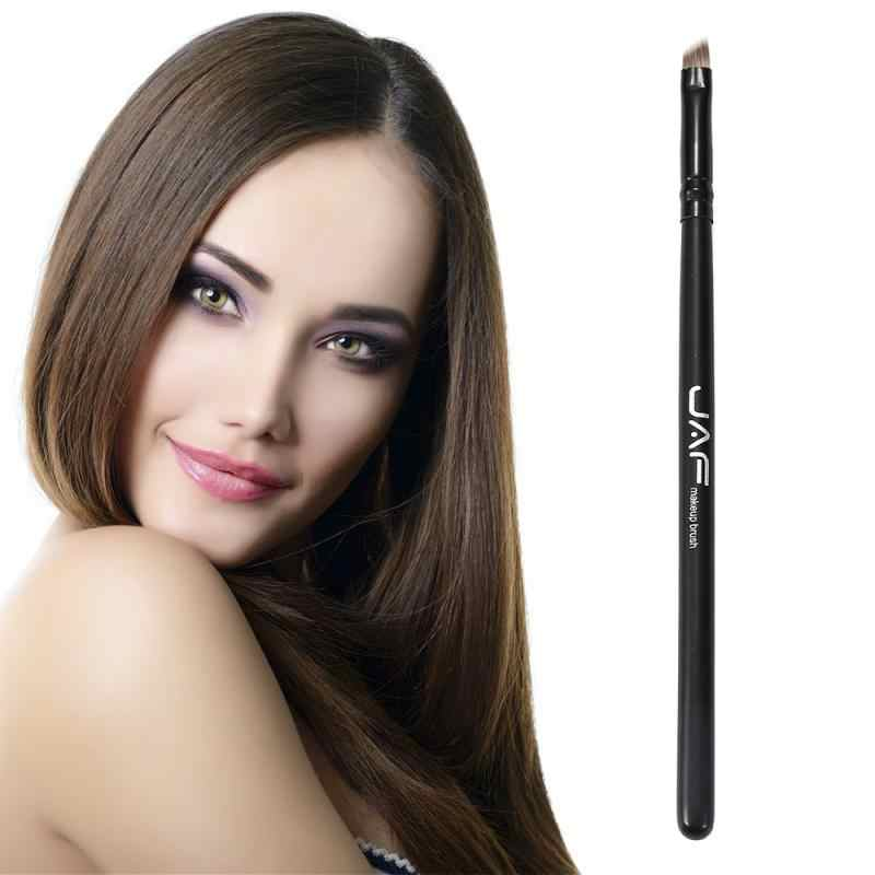 Sıcak satış 1 adet profesyonel kullanımı kolay açılı kaş fırçası naylon saç profesyonel makyaj fırçalar Eyeliner fırçası makyaj aracı