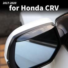 цена на For Honda Crv CR-V 2017 2018 2020 Rearview Mirror Rain Gear Rain Eyebrow Decoration CRV Rearview Mirror Water Shield Sun Visor M