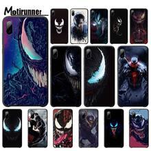 Motirunner Super Hero Venomluxury Mobile Case For Iphone 5s Se 6 6s 7 8 Plus X Xs Max Xr 11 Pro Max Telephone Accessories подгузники seni super plus small 30шт se 094 sm30 a02