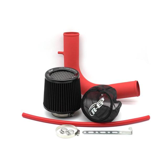R-EP Cold Air Intake Kit with High Flow Air Filter Fits for V W VOLKSWAGEN Golf 7 Passat Skoda Audi A3 Replacement Aluminum Pipe 5