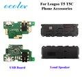 Ocolor для Leagoo T5 USB зарядное устройство Модуль платы Замена для Leagoo T5C громкий динамик звуковой звонок аксессуары
