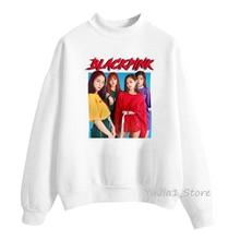 Korean Clothes Kpop BLACKPINK KILL THE LOVE Album Sweatshirt Women Pullover Sudadera Mujer Sweat Femme Tracksuit