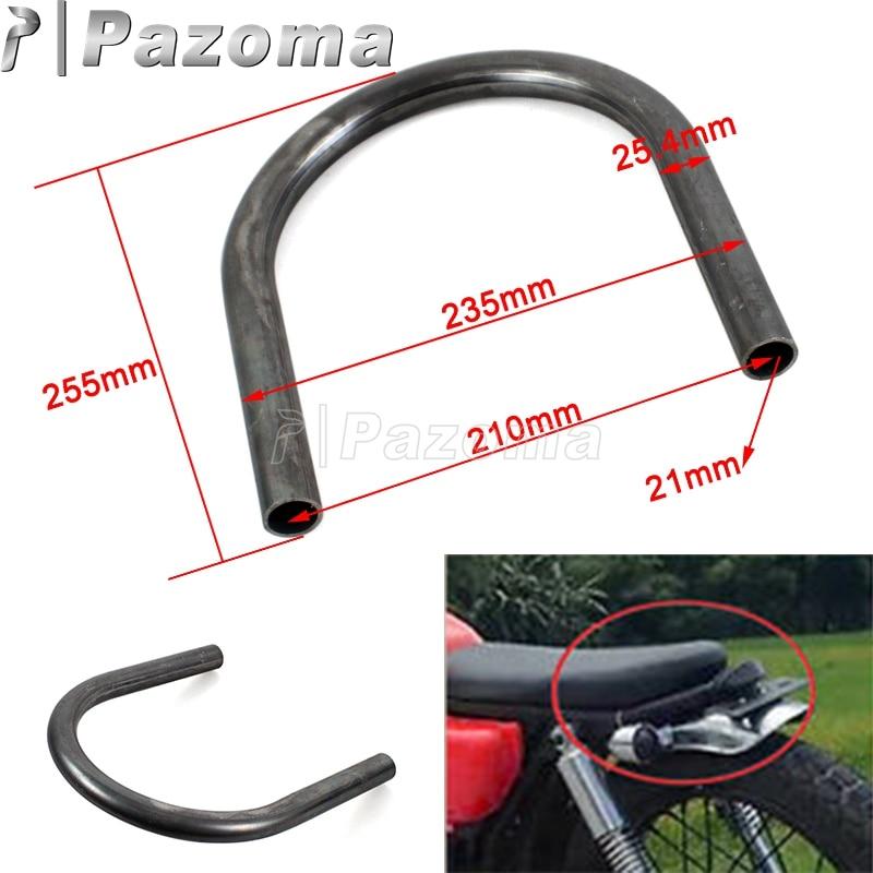 "Cafe Racer Scrambler Frame Loop  Hoop 8/' with 1/' tube 10/"" lenght honda cb550 750"