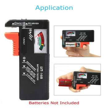 BT168 Battery Tester Pointer Type Battery Tester Multi-function Tester Test Car Charging Circut Load Tester Tools image