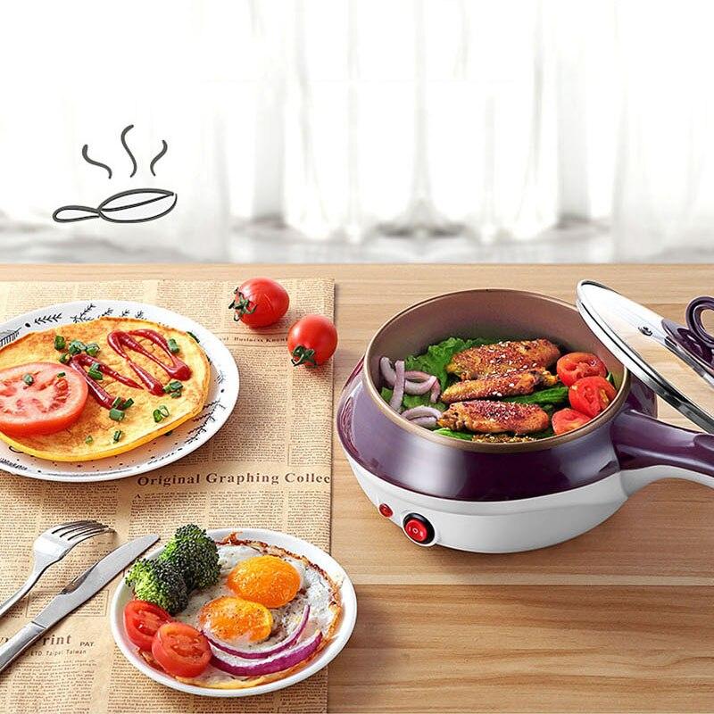 Household Electric Multi-function Frying Pan Omelet Steamed Egg Cooker Fast Boiler Kitchen Egg Tool Poacher Breakfast Machine