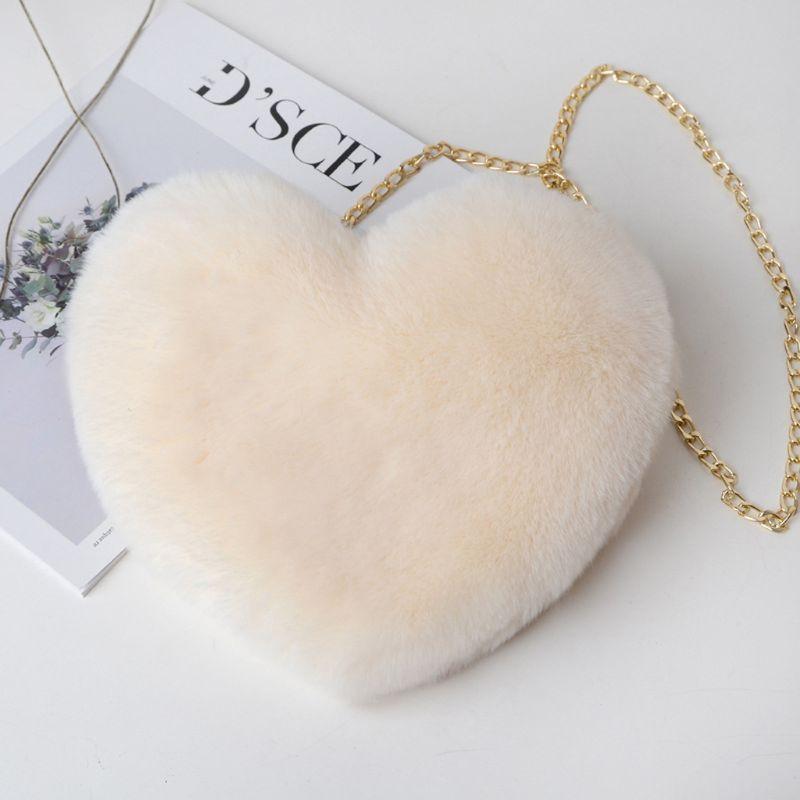 Sac à main en forme de coeur