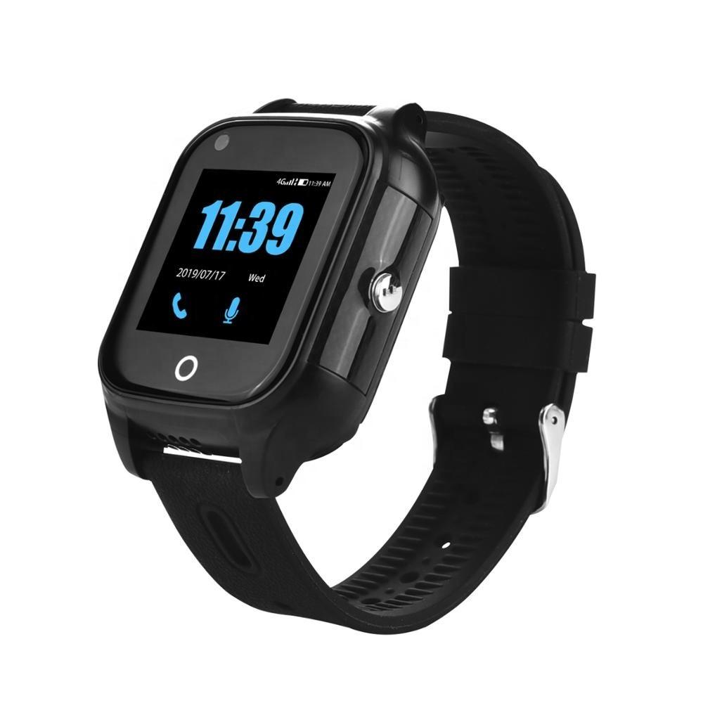 スマート腕時計4グラム高齢者のgpsトラッカービデオ通話sos心拍数監視ios androidのgps + 無線lan + ポンドポジショニングスマートバンドFA28S|スマートウォッチ| - AliExpress