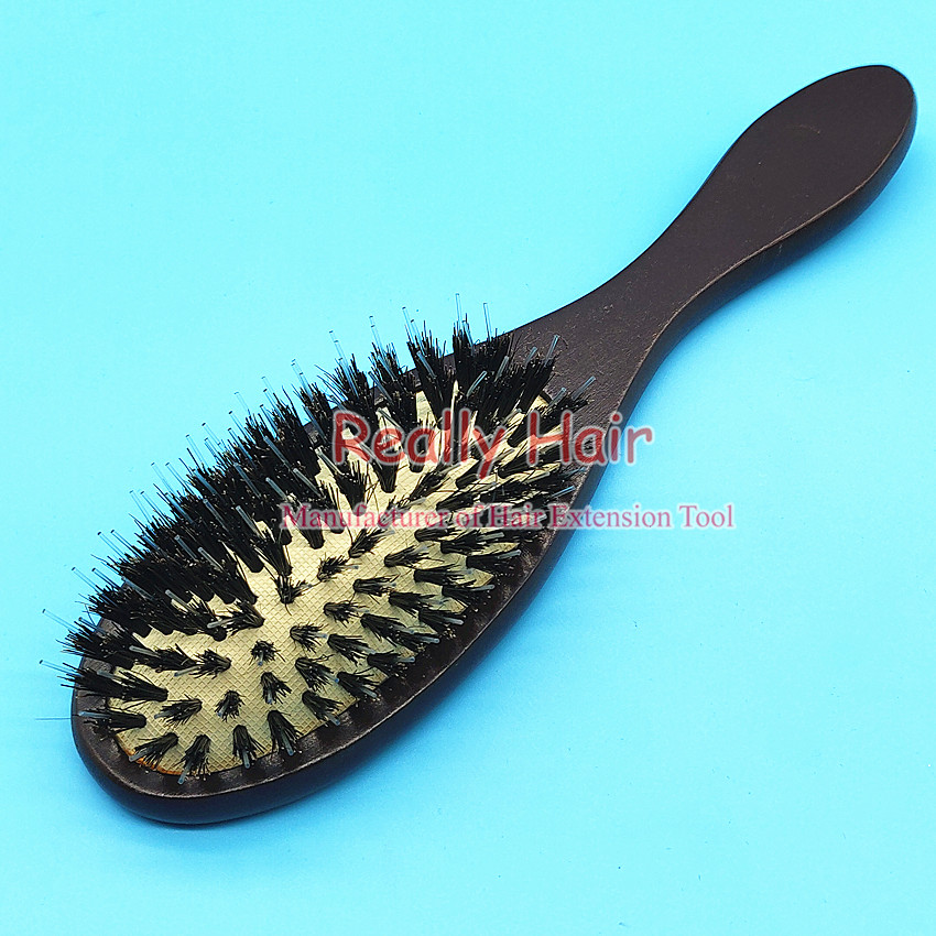 Wig Comb Wood To Bristle Anti-static Comb