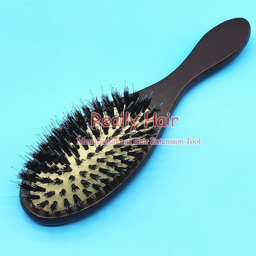 Wig Comb Wood To Bristle Anti-static Comb