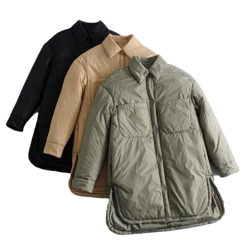 Femme Fleece Veste unie Chemise Décontractée Poche Baggy Surdimensionné Shacket manteau Top