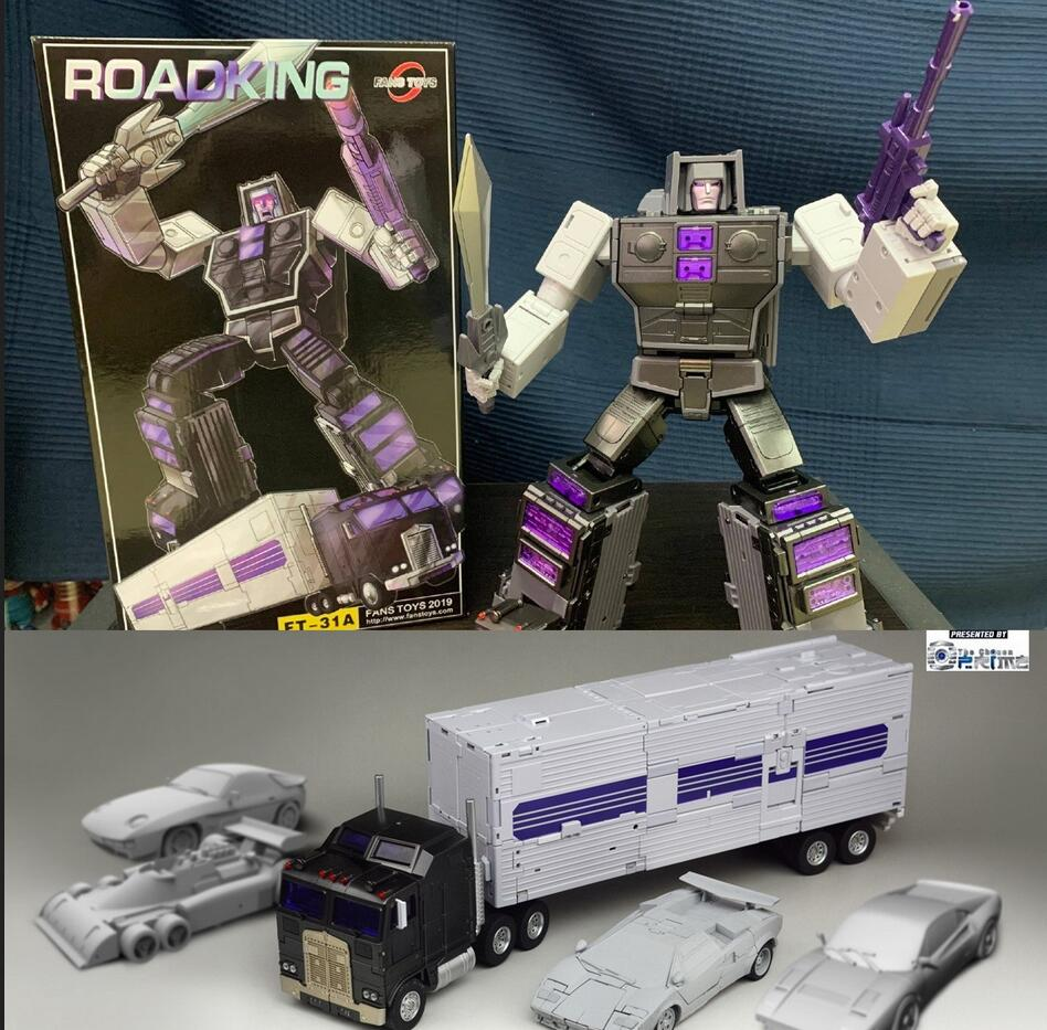 Image 2 - Fans Toys Transformation Toy Masterpiece FT 31A FT31A Roadking aka MP Motormaster MISB Action Figure Robots Collection DeformedAction & Toy Figures   -