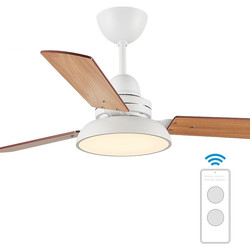 48 inch wood ceiling fan with lights remote control ceeling wooden lamps ventilator lamp bedroom decor modern fans 220v Nordic
