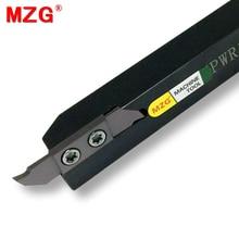 MZG CTPWR 12*12 10*10 20*20 мелкие детали Обрабатывающие инструменты токарные стержни с ЧПУ Инструменты для резки металла и пазовки