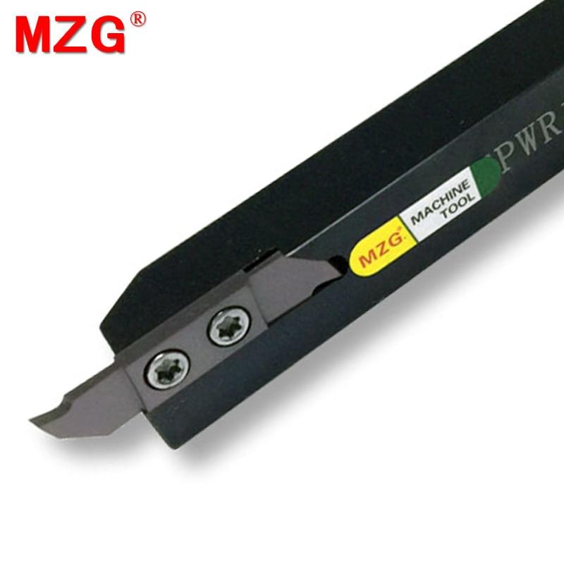 Barras de Corte Separação e Sulco Ctpwr Peças Pequenas Processamento Toolholders Cnc Torneamento Metal Ferramentas Mzg 12*12 10*10 20*20