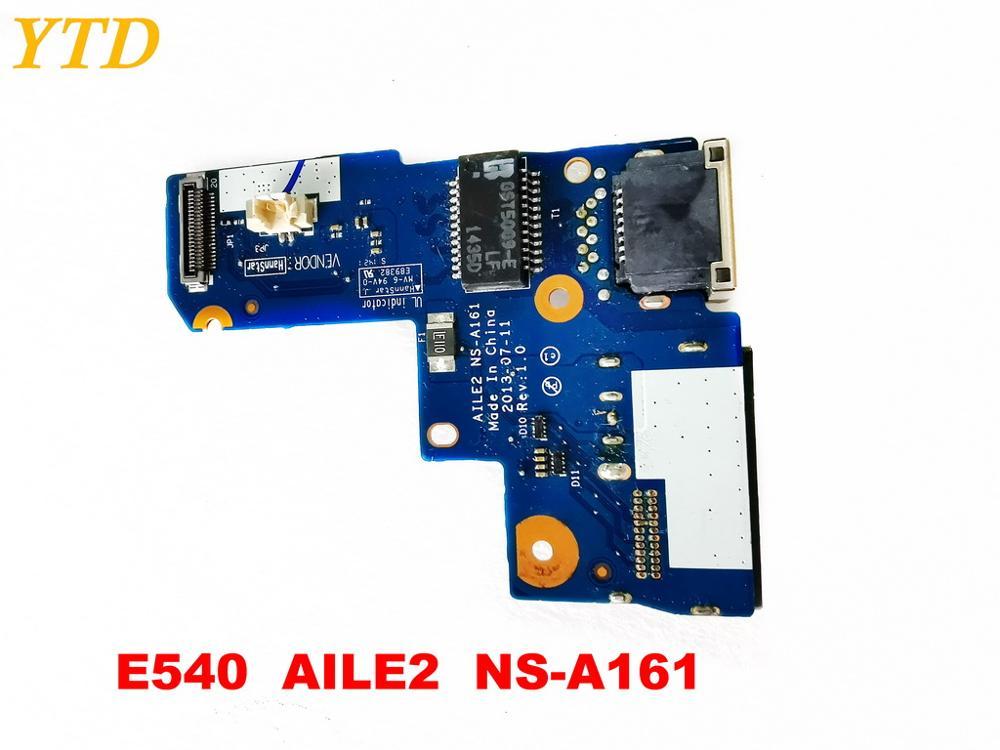 Original For Lenovo E540 Board E540  AILE2  NS-A161   Tested Good Free Shipping