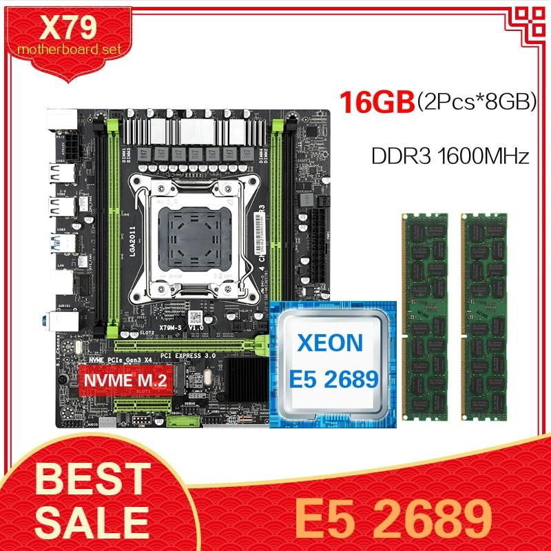 E5 2689 2X8gb