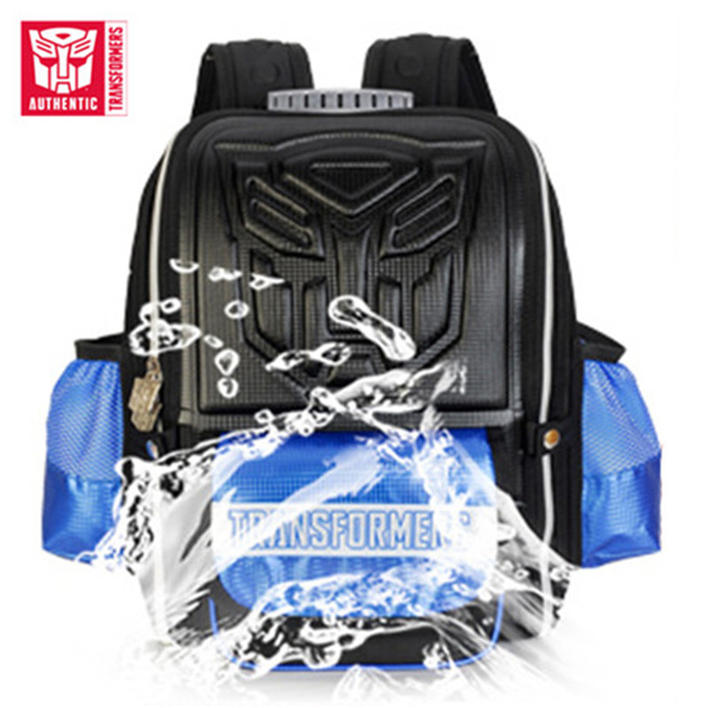 TRANSFORMERS 2019 Children's Schoolbag Fashion Style Waterproof Backpack Cartoon Pattern SchoolBag Large Capacity Travel Bags