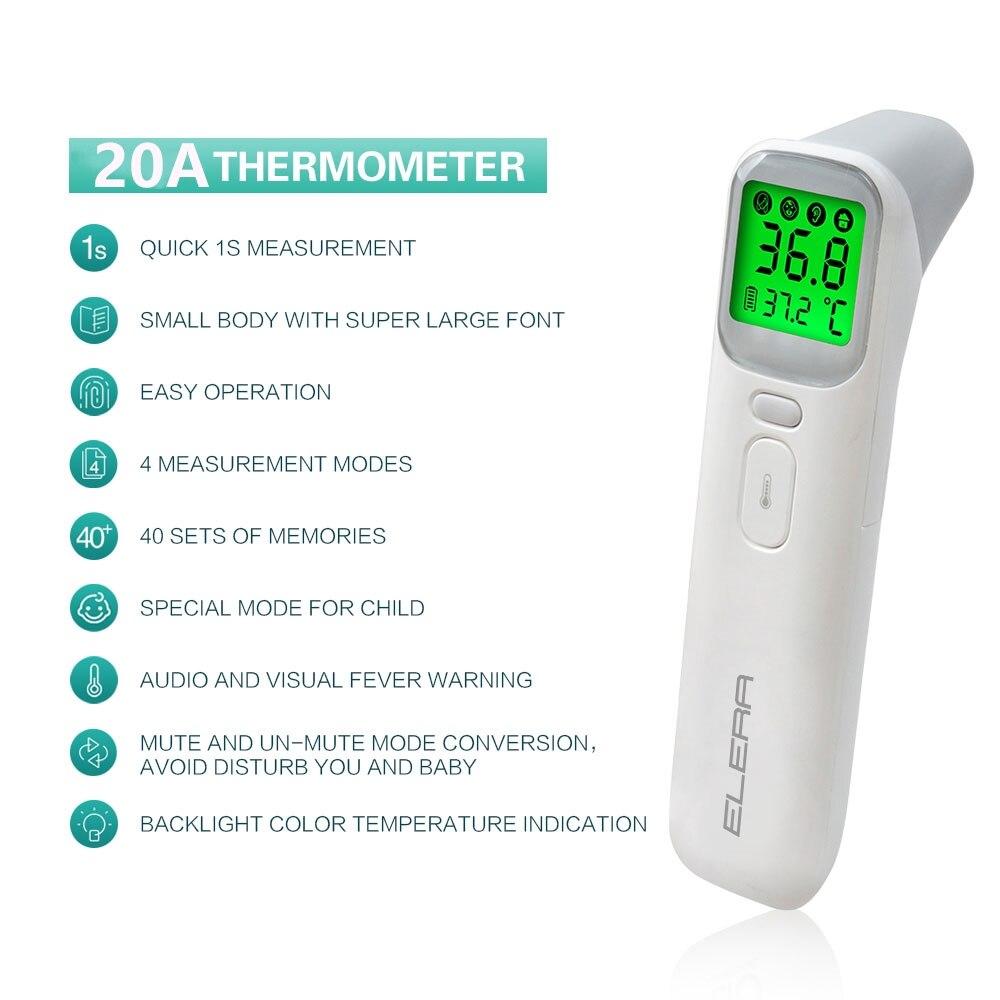 ELERA skaitmeninis bekontaktis infraraudonųjų spindulių termometras 4