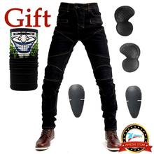 2019 New 718 Motorcycle Pants Men Motocross Pants Biker Motorcycle Jeans Protective Gear Riding Motorbike Pantalones Moto Pants