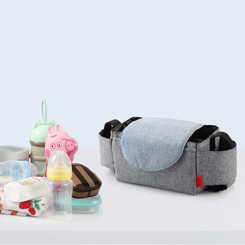 Kleine Kinderwagen Bag Organizer Fles Bekerhouder Luiertassen Moederschap Luiertas Accessoires Voor Draagbare Kinderwagen 2020