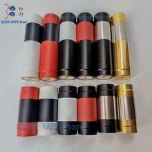 Novo elthunder mod com gota rda pring botão mod mecânico 510 thread 18650 18350 bateria 24mm vaporizador mecânico vape apoca