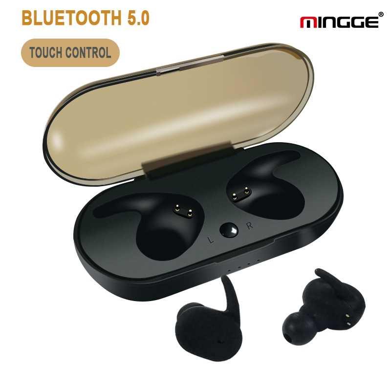 MINGGE TWS ヘッドセットワイヤレスヘッドホンの Bluetooth マイクステレオワイヤレスイヤホン iphone アンドロイド Xiaomi 名誉