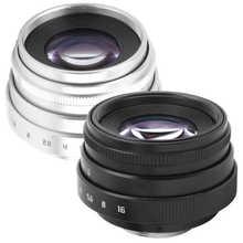 35mm F1.6 C góra duża przysłona ręczna stała gęstość wiązki portret obiektyw aparatu akcesoria