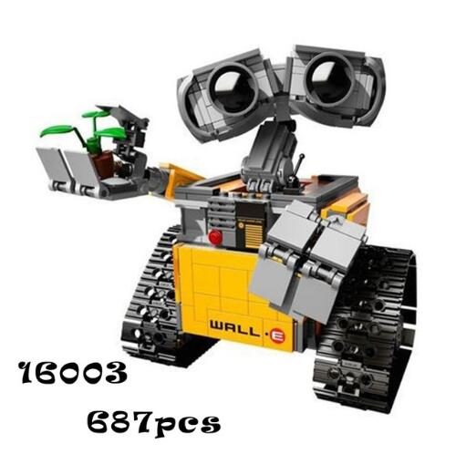 Building Blocks Model 16003 Compatible With <font><b>Legoingly</b></font> Idea Wall E <font><b>21303</b></font> Educational Toy For Children Gift For Boy Girl image