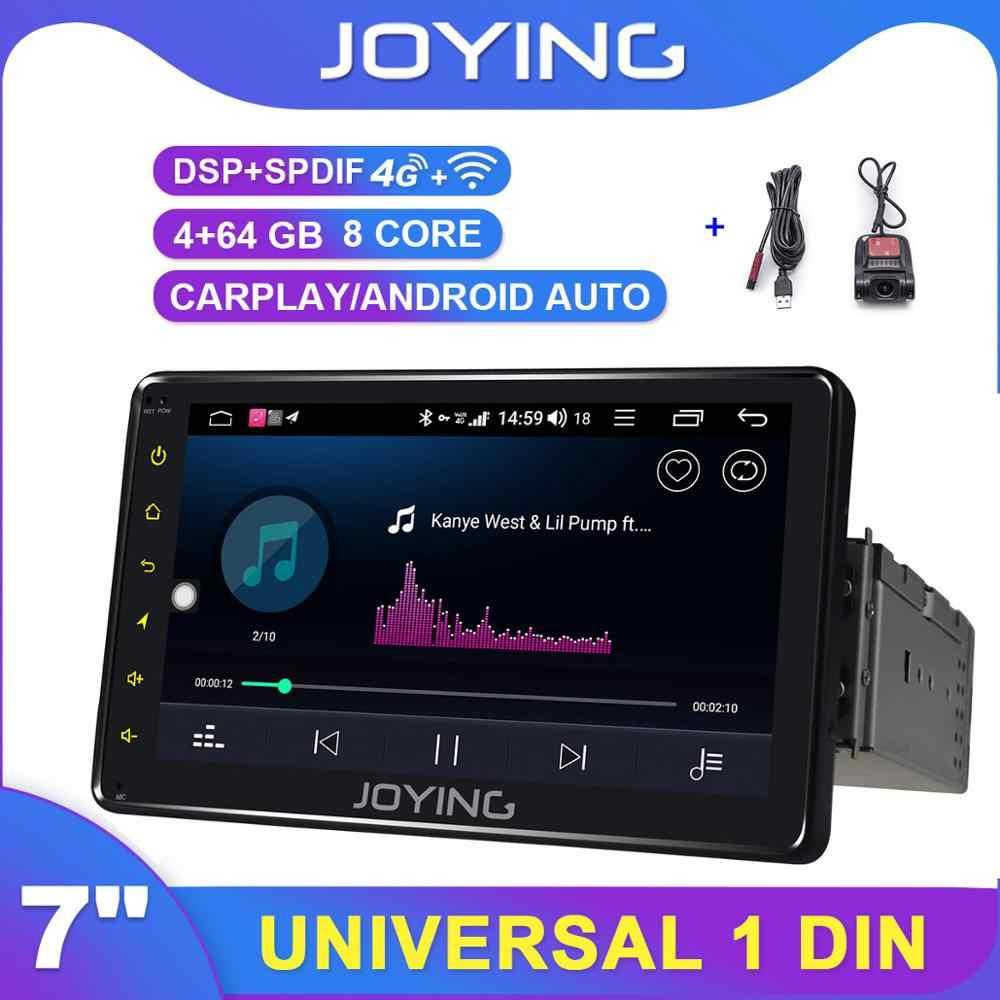 "Single Din Android 8.1 7/"" Carro Estéreo Rádio Gps Wifi 3G 4G Bt DAB Mirror Link OBD"