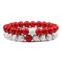 8mm white red